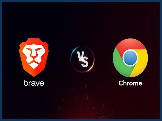 Brave vs Chrome : أي متصفح أفضل ؟