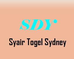 Syair Sydney Hari ini