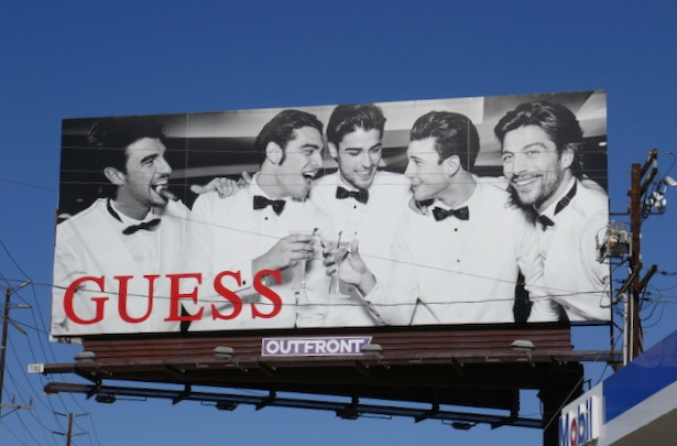Guess Holidays 2019 billboard