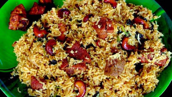 Mutton Biryani - One of the best Trichy style mutton biryani to taste.