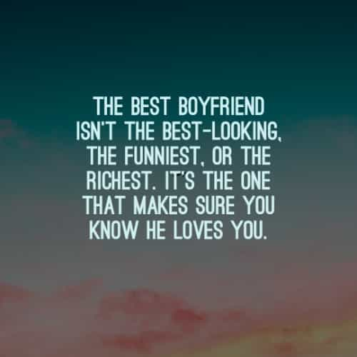 Boyfriend quotes for 100 Sweet