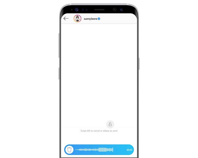 Send Voice Messages - Instagram Tricks
