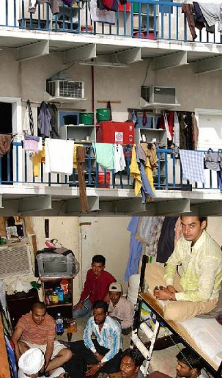 Housing for Low Income  People in  Dubai: Labor camp