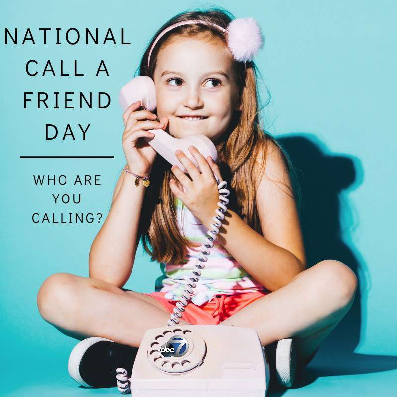 National Call a Friend Day Wishes pics free download