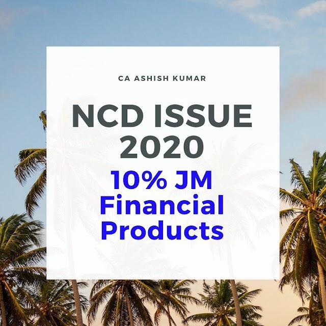 10% JM Financial NCD Feb 2020 (Full Detail)