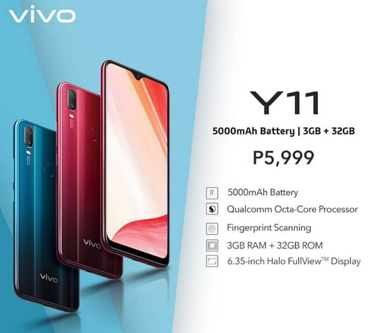 Vivo Y11 Arrives in PH for only Php5,999!