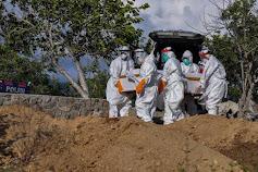 Update Covid-19 di Samosir : 1 Nakes Puskesmas Onan Runggu Meninggal Dunia