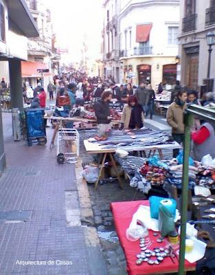 Feria en San Telmo, Ciudad de Buenos Aires, Argentina