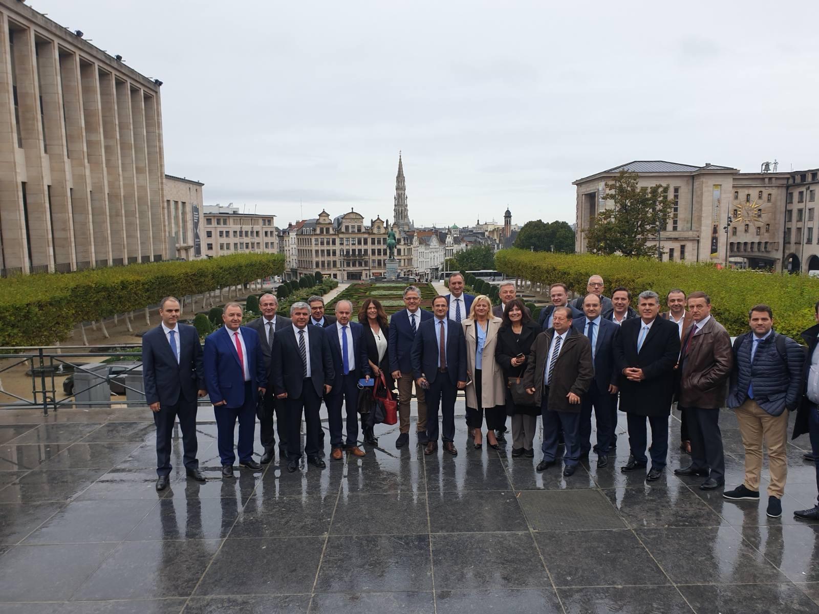 Επίσκεψη του Δημάρχου Τυρνάβου στις Βρυξέλλες