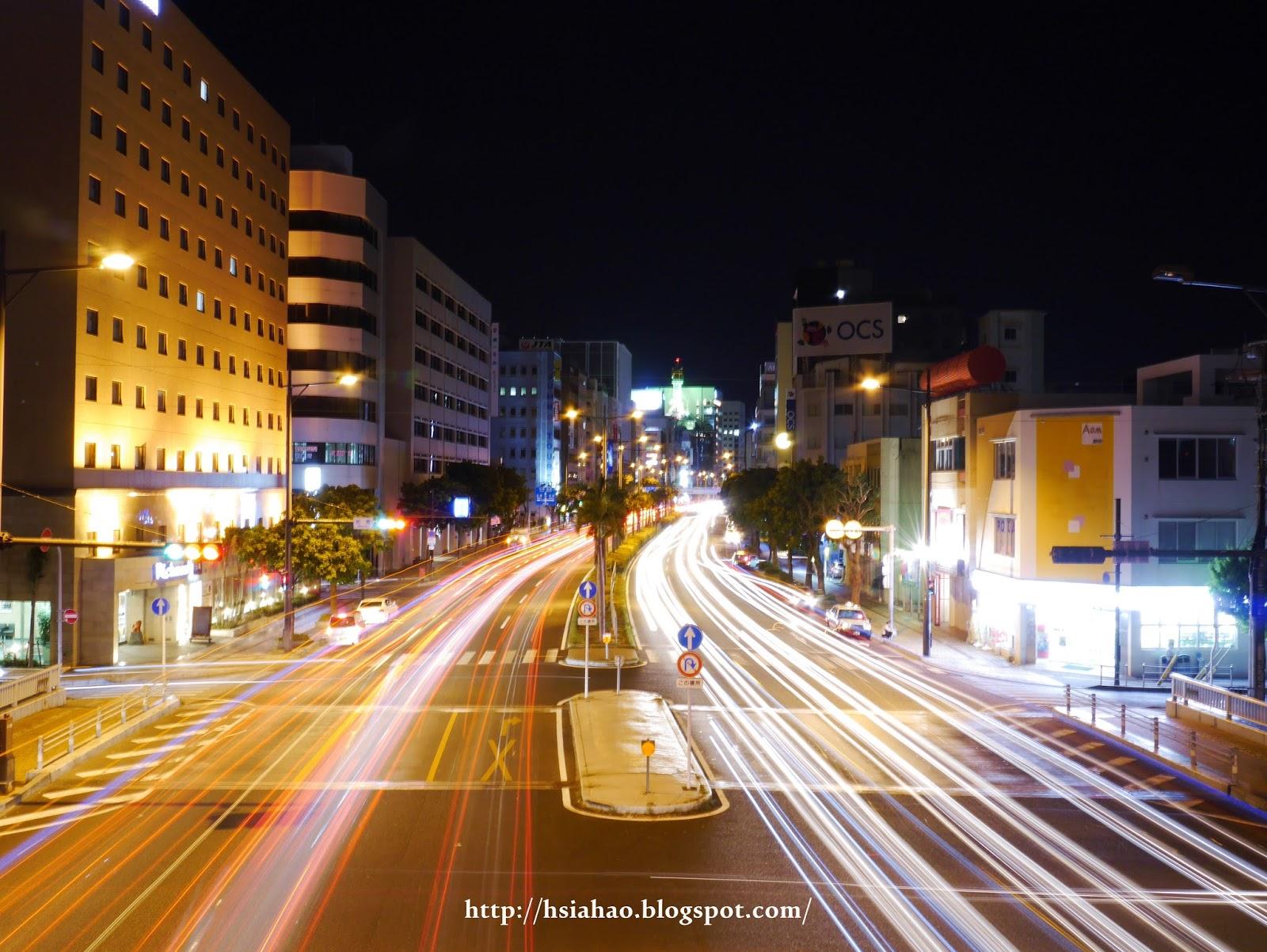 沖繩-國際通-夜景-商店-街景-購物-逛街-景點-自由行-Okinawa-kokusaidori