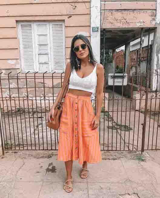 Ideias de looks com peças em laranja