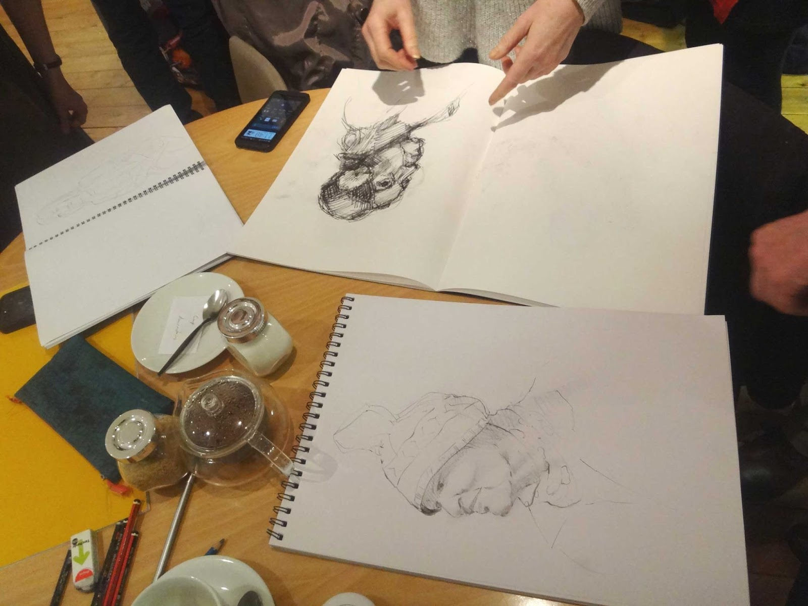 Cardiff Drawing Group Fascinating Faces