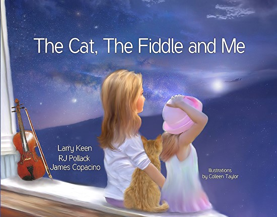 the cat the fiddle and me, larry keen, colleen taylor, beechhouse media,