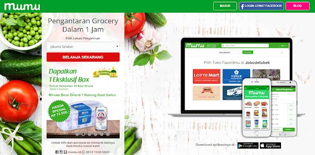 Berbelanja Sembako Di Toko Online Mumu Memuaskan