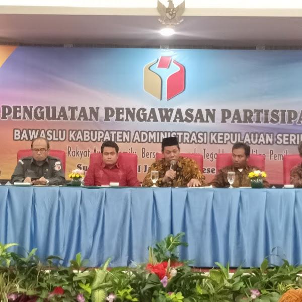Penguatan Partisipasi Masyarakat Jadi Fokus Bawaslu Kepulauan Seribu