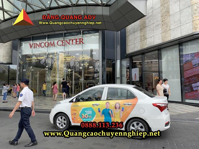 Dán quảng cáo trên taxi giá rẻ tại Đà Nẵng