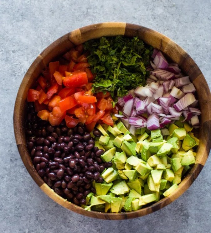 Recipe:  Black Bean and Avocado Salad