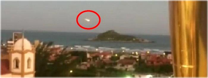 bola de fogo em florianopolis - ultimas informações e novas imagens