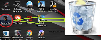 Recycle Bin Pada PC Komputer