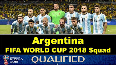 Argentine world cup squad