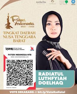 Mari Dukung Finalis Putri Indonesia yang Wakili NTB