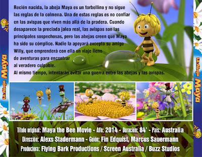 La abeja Maya - La película - [2014]