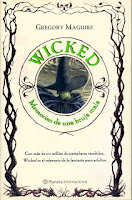Portada de Wicked, de Gregory Maguire