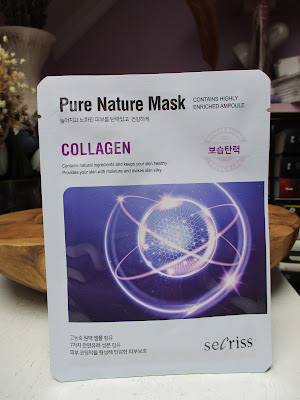 Prírodná pleťová maska Secriss - Kolagén