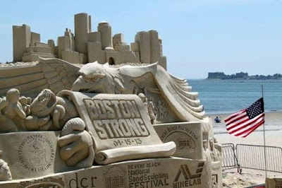 Revere Beach Annual International Sand Sculpting Festival in Massachusetts