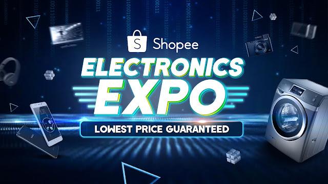 Ekspo Elektronik Shopee - Potongan Harga Sehingga 90%