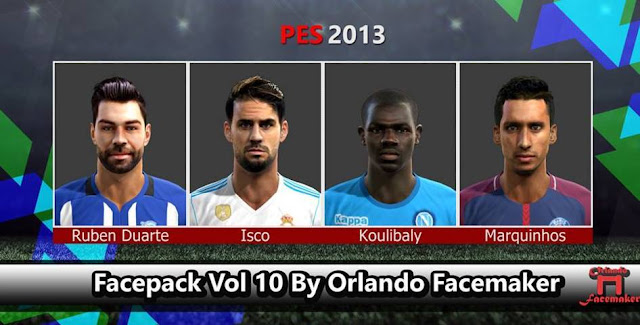 New Facepack Vol 10 PES 2013