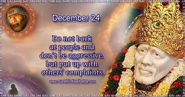 My Sai Blessings - Daily Blessing Messages-Shirdi Sai Baba Today Message 24-12-19
