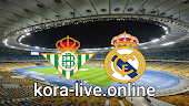 مباراة ريال مدريد وريال بيتيس بث مباشر بتاريخ 24-04-2021 الدوري الاسباني