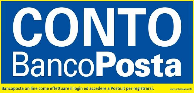 Bancoposta on line login: come accedere a Poste.it e registrarsi