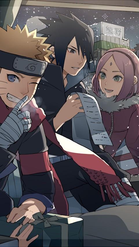 Hình Nền Mở Khóa Troll Naruto Và Những Người Bạn