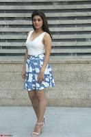 Yamini in Short Mini Skirt and Crop Sleeveless White Top 015.JPG