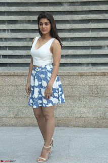 Yamini in Short Mini Skirt and Crop Sleeveless White Top 015.JPG