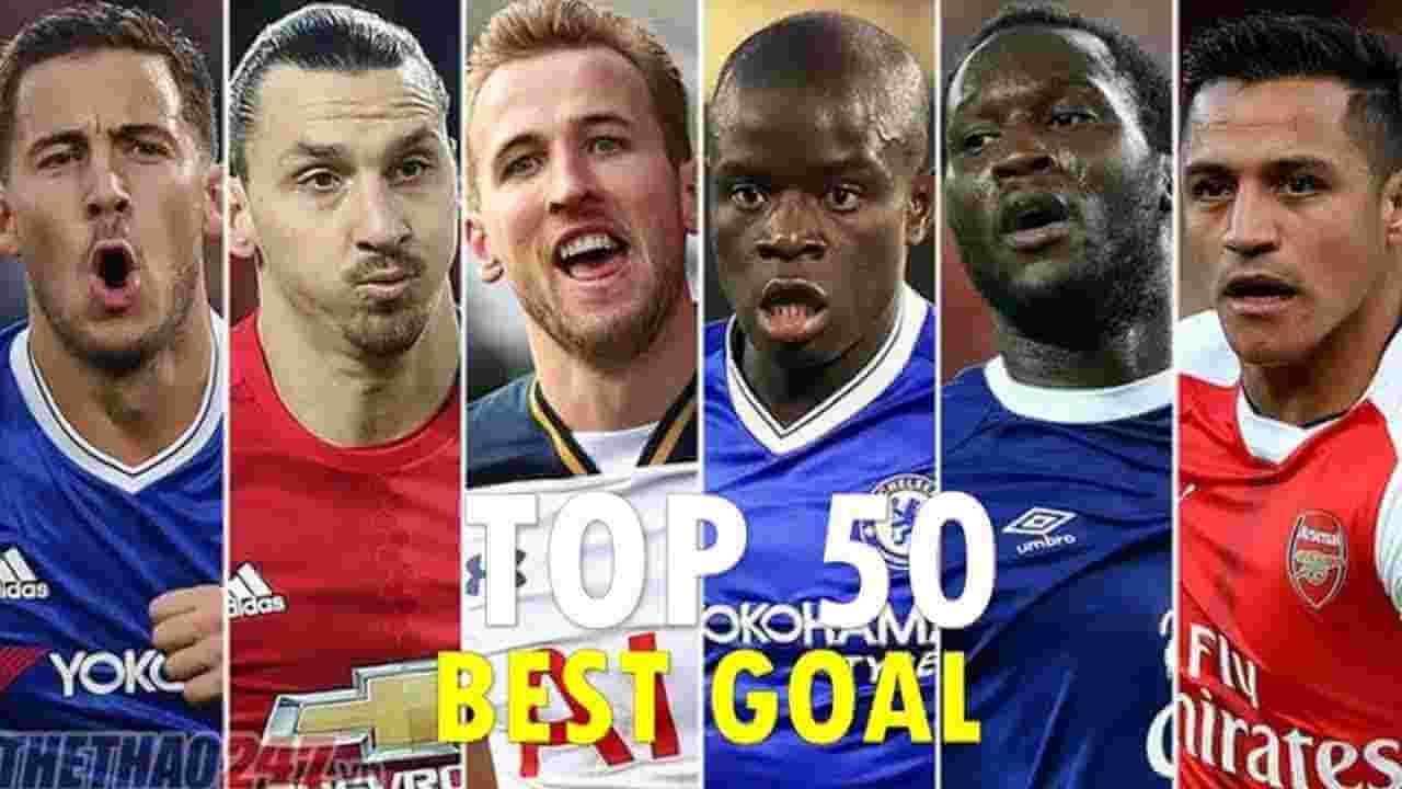 اجمل 50 هدف في العالم 2017