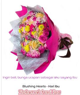 INGIN BELI: Bunga ucapan sebagai aku sayang ibu