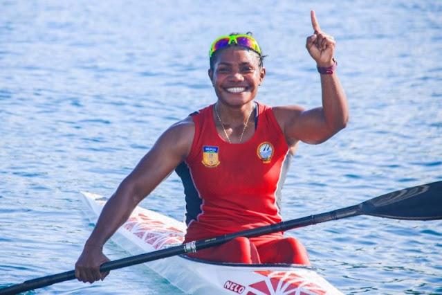 Stevani Ibo, Atlet Papua Pertama yang Cetak 2 Medali Emas di PON XX.lelemuku.com.jpg