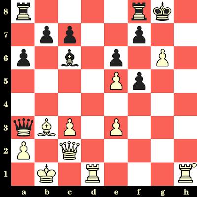 Les Blancs jouent et matent en 4 coups - Zhongyi Tan vs Qi Guo, Taizhou, 2015