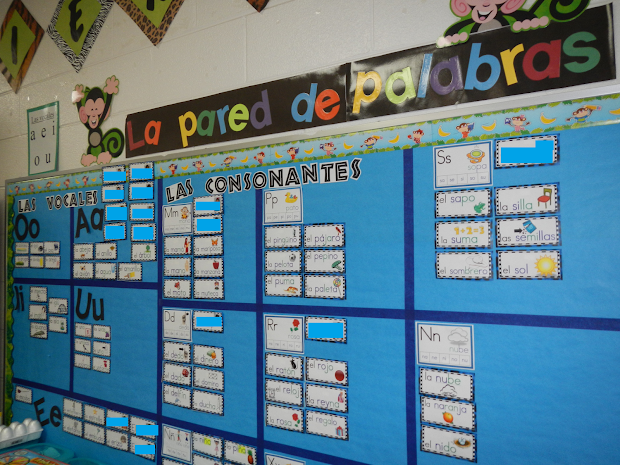 Dual Language Diva La Pared De Palabras Spanish Word Wall