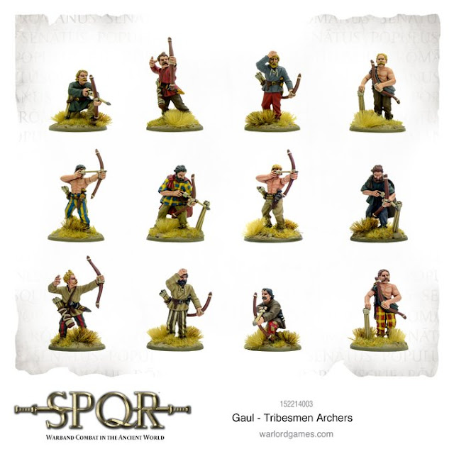 Wargame News and Terrain: Warlord Games: New Resin SPQR Gaul