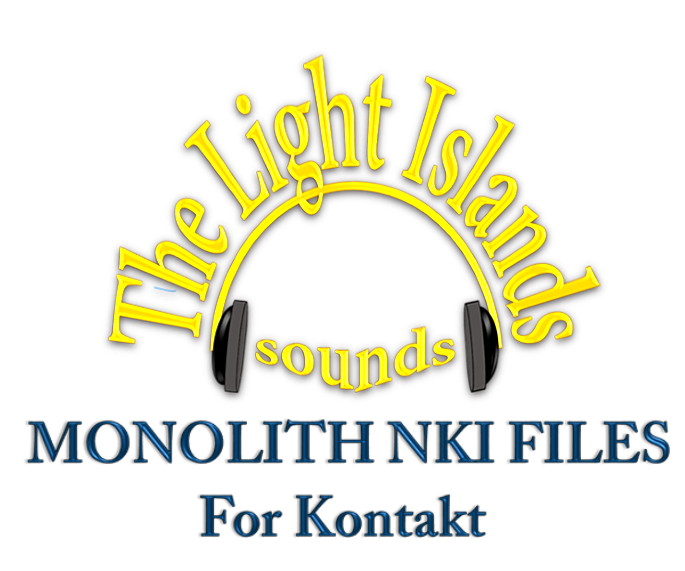 The Light Islands Sounds: Concert Harp, Kontakt instrument