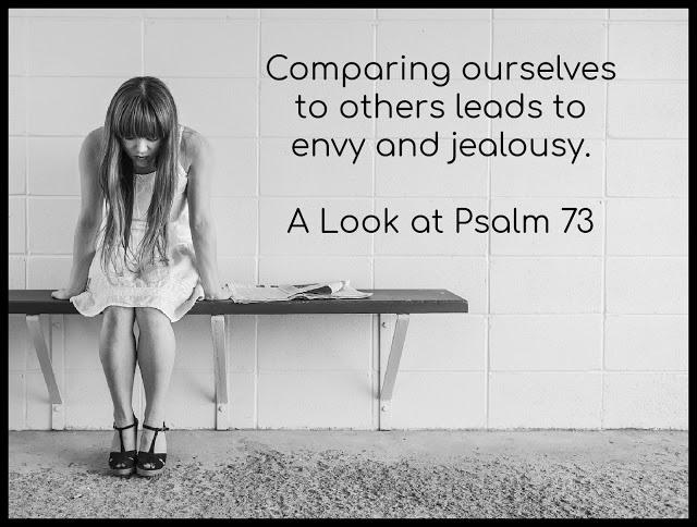 Comparison, Envy, Jealousy
