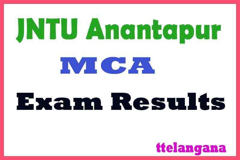 JNTU Anantapur MCA  Exam Results