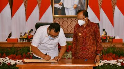 Majukan Daerah, Gubernur NTB dan Bali Jalin Kerja Sama