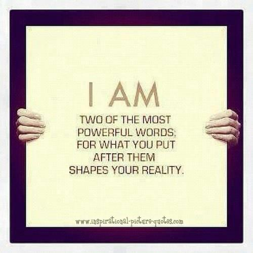 Encouraging Success Quotes: I Am The Most Powerful Words Quote