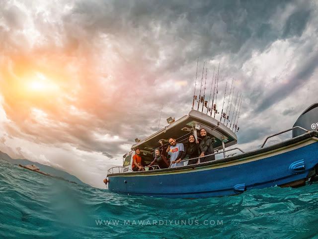 charter boat murah di rompin