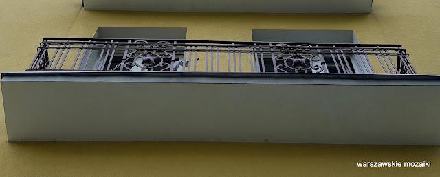 Warszawa Warsaw Targówek Fabryczny kamienica przedwojenna architektura architecture balustrada balkon